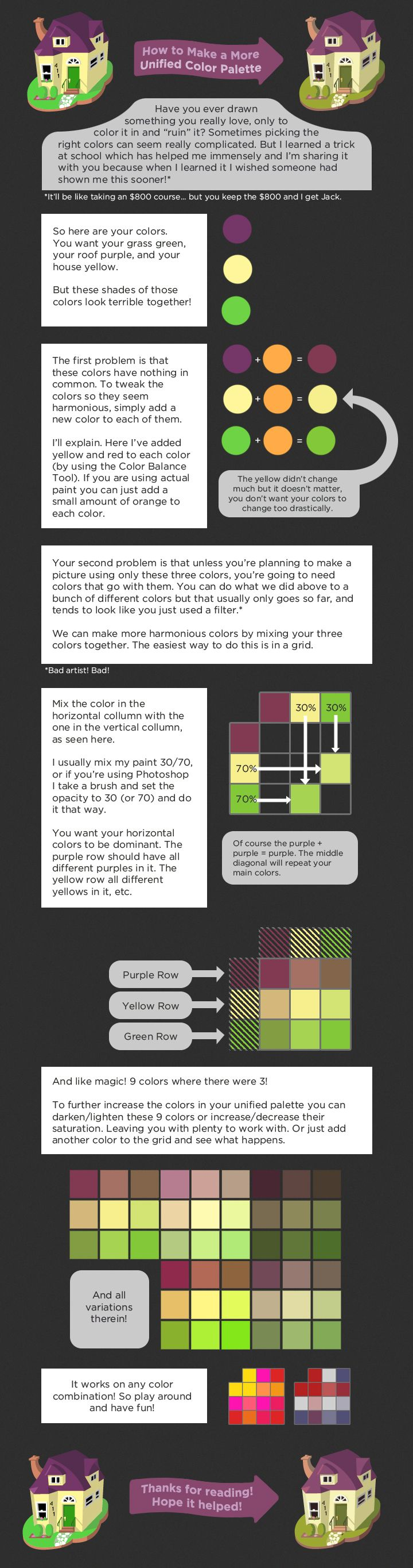 Game color theory - Unified Color Palette Tutorial By Cpresti Deviantart Com On Deviantart