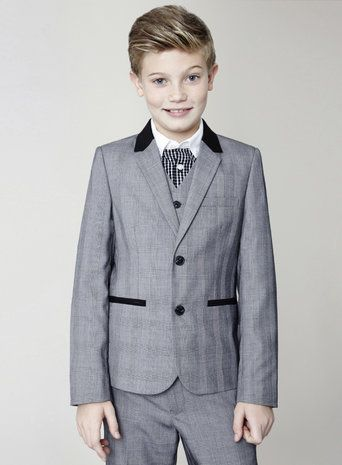 PageboyGrey Check Suit Jacket Was £34.00Now from £17.00    http://tidd.ly/1c20a561