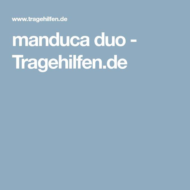 manduca duo - Tragehilfen.de