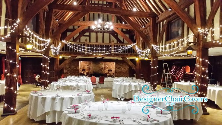 95 best weddings images on pinterest chair covers designer chair great fosters wedding in surrey with our fairy light barn lighting chiavari chairs alongside uplighters and more lighting hire in surrey the great fosters junglespirit Gallery