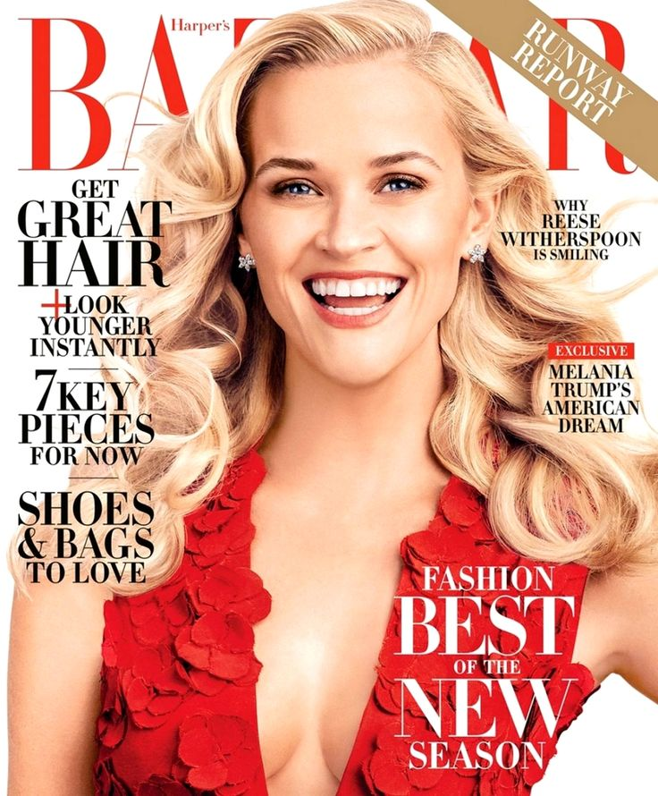 Reese Witherspoon | Harper's Bazaar US February 2016