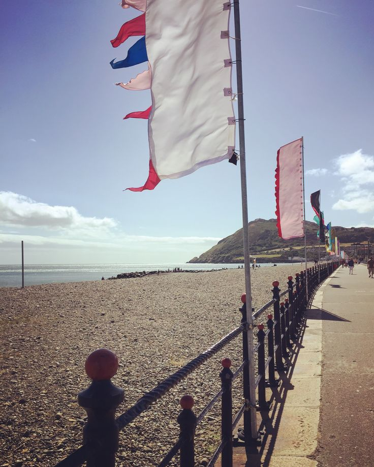 Beautiful day on the seafront