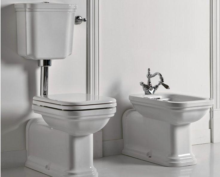 Waldorf wc con cassetta esterna by kerasan design massimiliano cicconi digital bath bagni - Wc con cassetta esterna ...