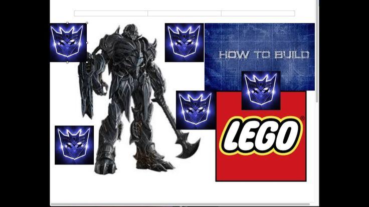 how to build a lego transformer mini