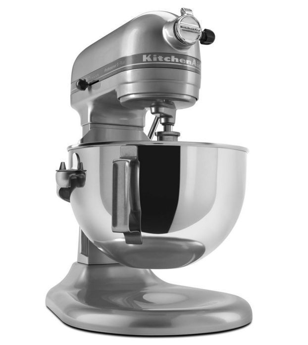 The Professional 5 Plus Series 5-Quart Bowl-Lift Stand Mixer is perfect for heavy, dense mixtures.