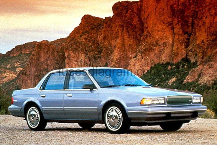 Fuse box diagram Buick Century, 1994, 1995, 1996, 1997