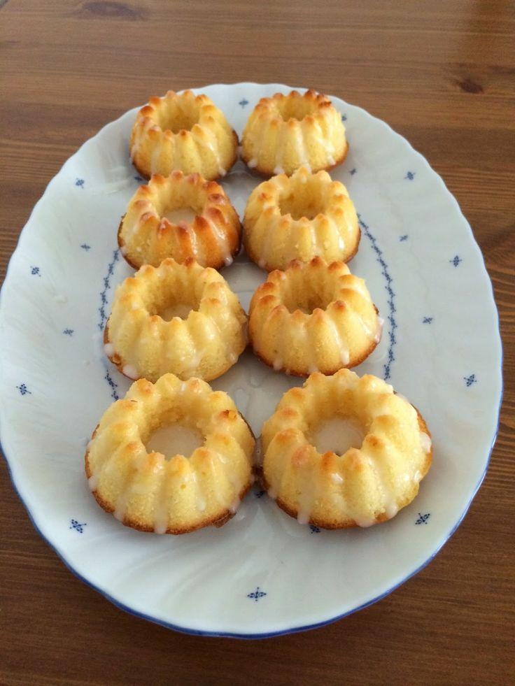 Kachas Kreativecke: Zitronen-Mini-Gugelhupfe #ichbacksmir #gugl