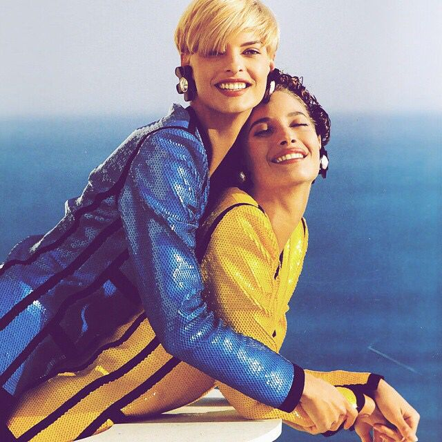Linda n Kristy for Chanel by Karl!!! 1991.