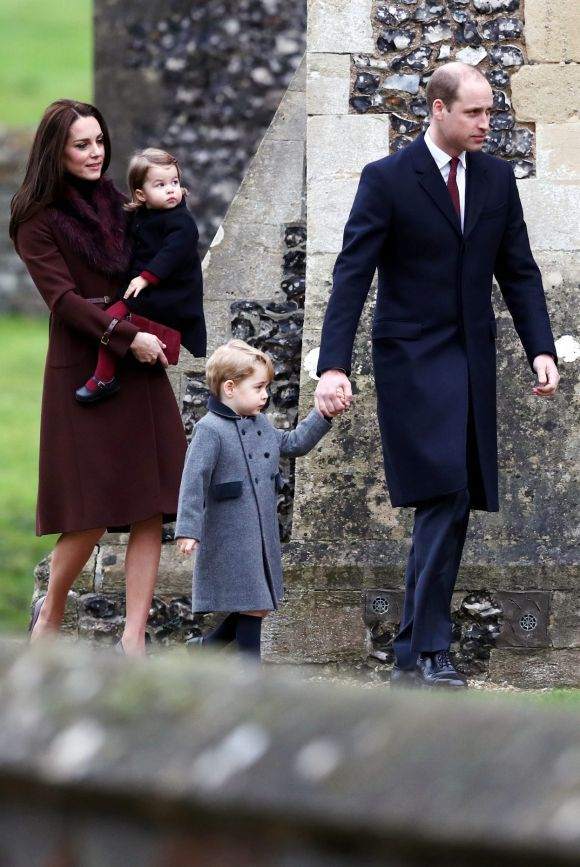 Duke and Duchess of Cambridge, William and Kate, celebrate Christmas