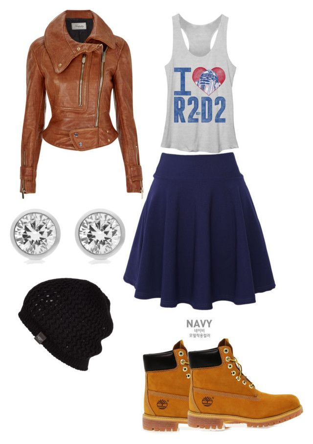 """""""Sweet"""" by clemohang on Polyvore featuring Timberland, QNIGIRLS, Temperley London, Michael Kors and UGG Australia"""