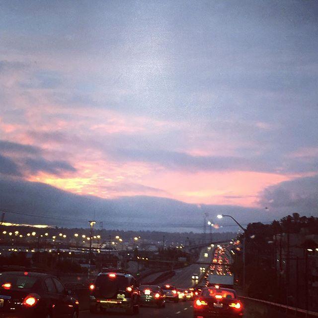 Reposting @pauline_tikvah: Sun ☀️ rise 🌈