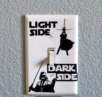 Star wars light switch cover