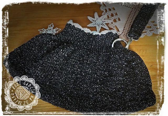 Robi Gabcia Na Szydełku #RobiGabciaNaSzydelku #knitbag #knit #knitting