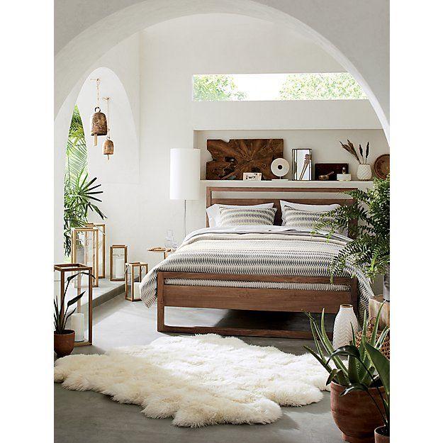 Slice Teak Wall Art Set Of Two Reviews Crate And Barrel In 2020 Bedroom Design Home Decor Simple Bedroom