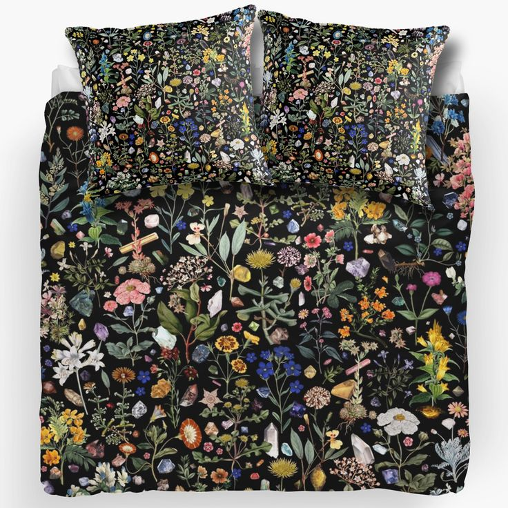 New! Healing Pillows and Bed Covers by Fifikoussout #print #pattern #design #art #illustration #homedecor #home #flower #redbubble