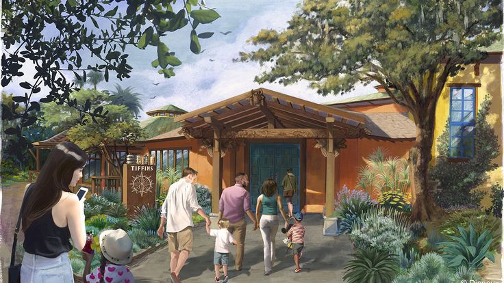 Tiffins Restaurant in Animal Kingdom Opening in Time for Summer!