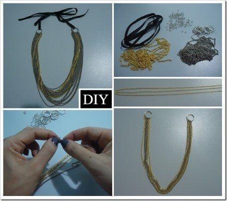 Está na moda usar maxi colar, aproveite essa dica que selecionamos e faça você mesmo esse bijuteria!
