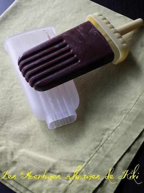 ... Aventures culinaires de Kiki: Sucettes glacées au fudge (Fudgesicles