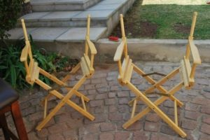 2 Director chairs - R70