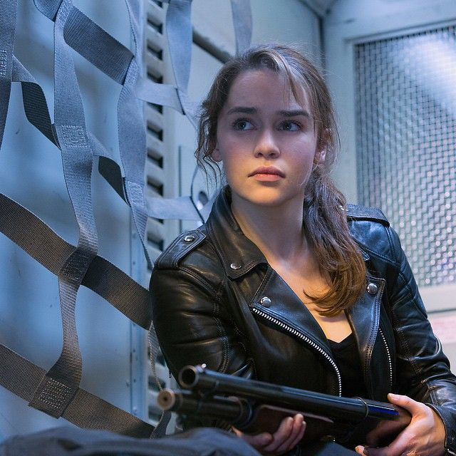 Join Emilia Clarke on 3rd July to defend the human race. #TerminatorGenisys, July 3 in 3D!