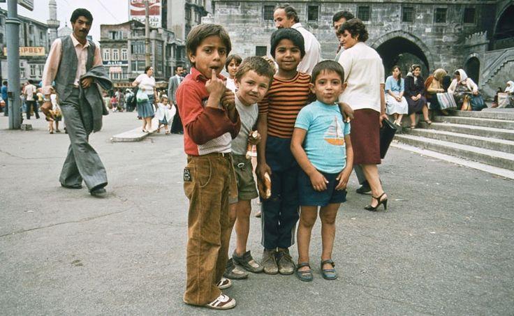 Begegnungen mit Menschen in der Türkei, 1982.