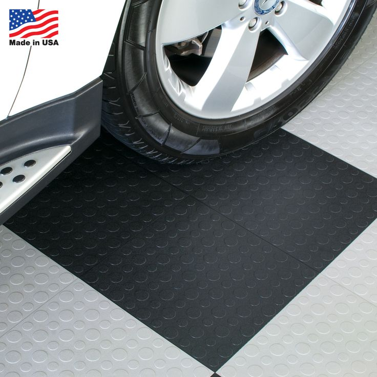 Immediately transform your garage with interlocking floor tiles. These durable garage tiles are proudly made in the USA. They are easy to install and require little to no maintenance. Your garage will look polished with these must-have floor tiles.