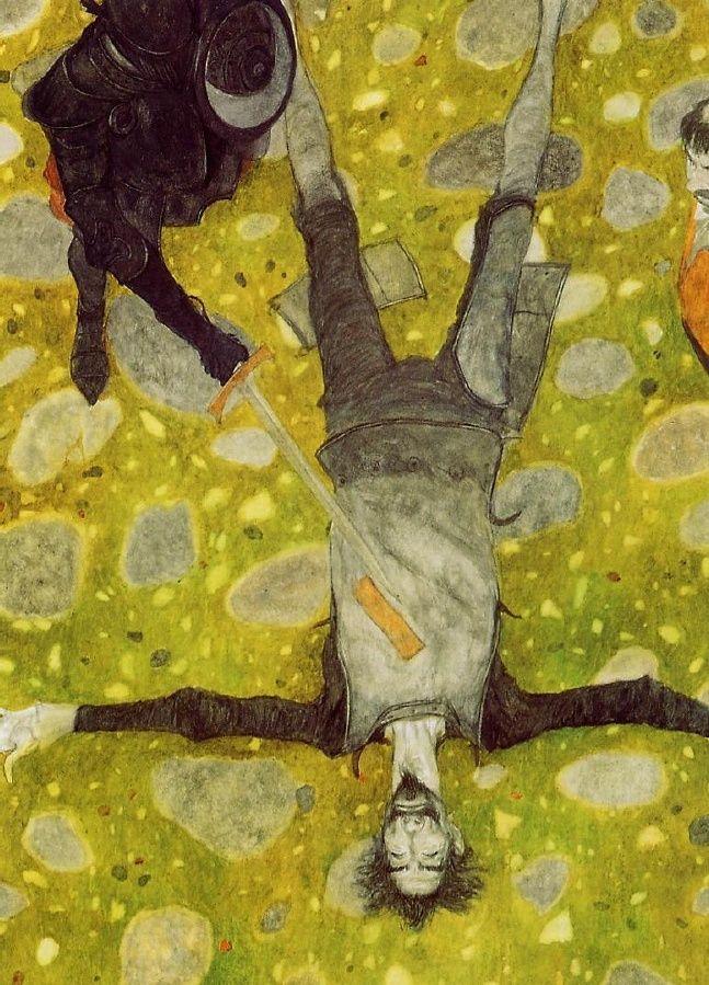 Illustration by Svetlin Vassilev for Don Quixote: