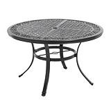 Aberdeen Collection Round Cast Dining Patio Table, 48-in | Canadian Tire