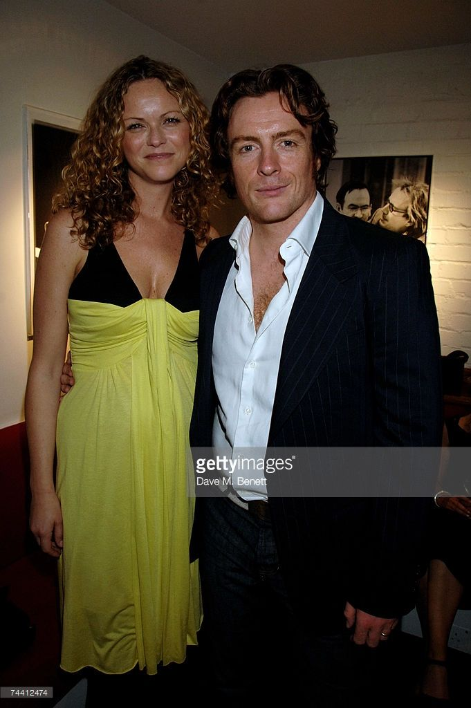 Actors Toby Stephenson and Anna-Louise Plowman attend the after party following the opening night of 'Betrayal' at the Donmar Warehouse June 5, 2007 in London, England.