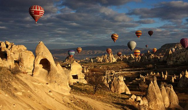 Cappadocia is the place which was counted as natural and cultural presence to UNESCO #turkey #travel #tourism #trip #guide