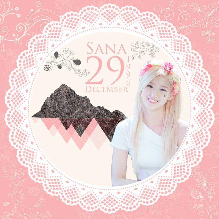 Happy Birthday Sana Twice~!!