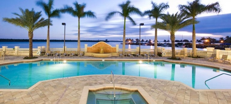 The Resort at Marina Village in Cape Coral, FL.  About 3 hours southwest from Orlando, FL.  A great getaway.  Very relaxing!
