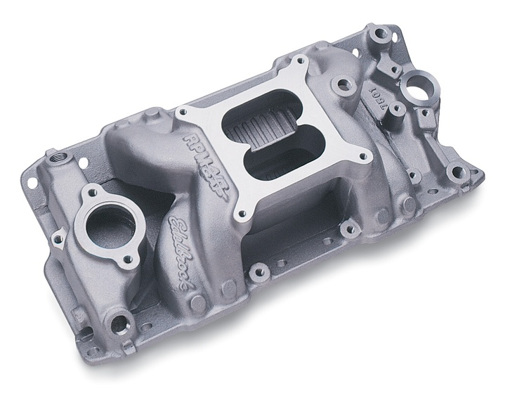 Edelbrock performer rpm air gap intake manifolds