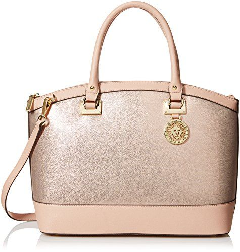 Anne Klein Time To Indulge Dome Satchel Bag, Blush Pink, One Size Anne Klein http://www.amazon.com/dp/B015OT4J3K/ref=cm_sw_r_pi_dp_RDFrwb195Z4W9