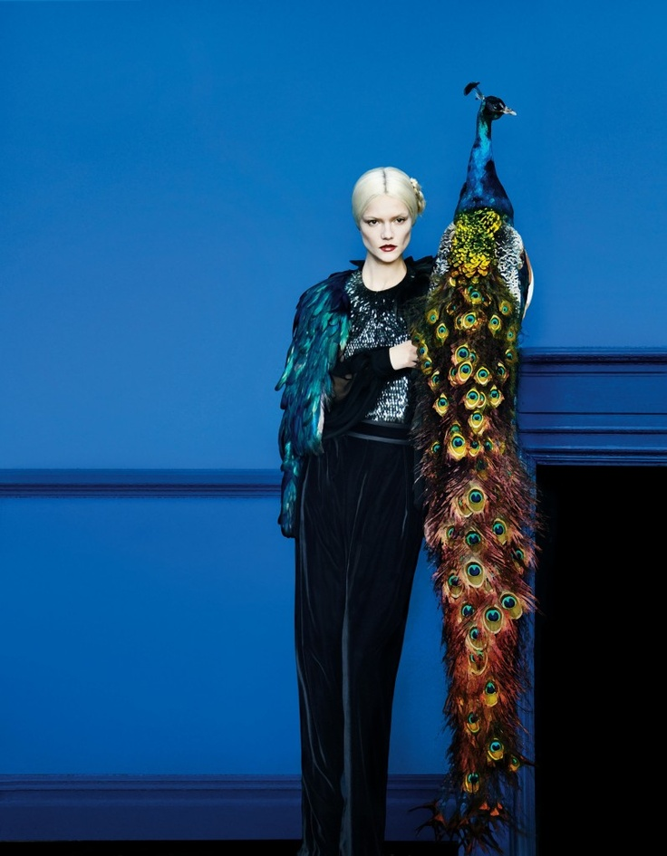 The Art of Fashion featuring Gucci Fall 2012.