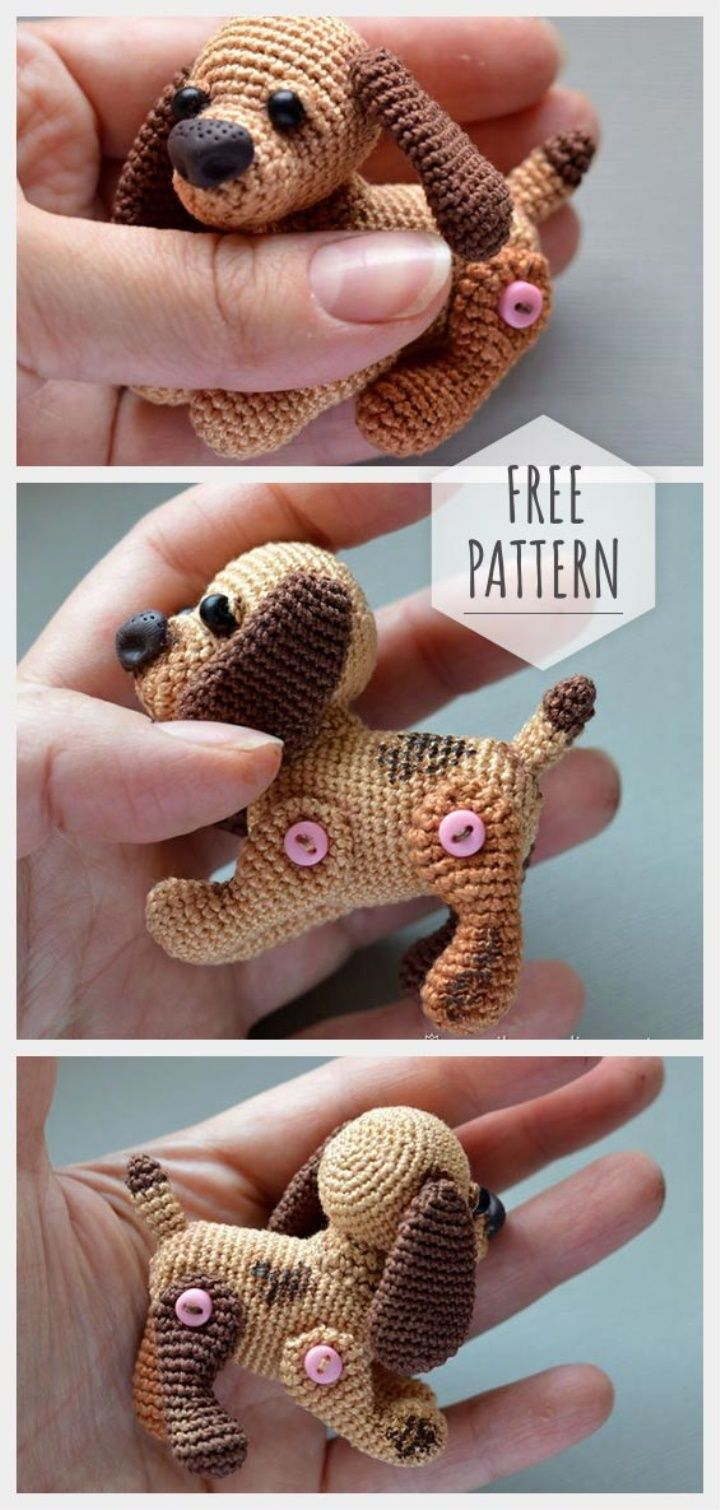 Free tiny crochet animal patterns - Amigurumi Today | 1510x720