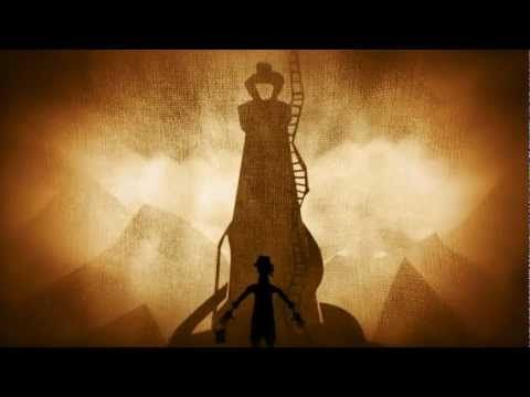 """So cool. Shadow puppetry, theatre, banjo, a great story. PigPen Presents: """"Bremen"""""""