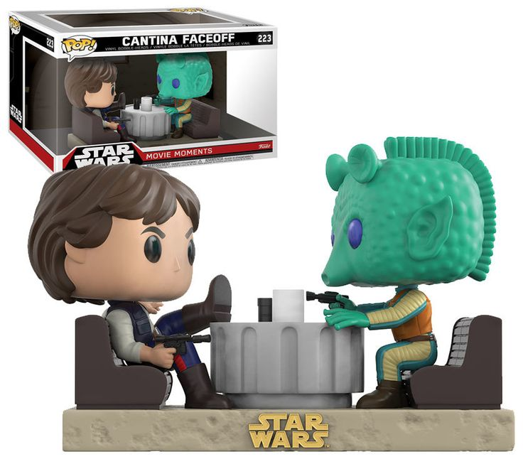 Funko POP! Star Wars Movie Moments #223 Cantina Faceoff - New, Mint Condition. http://www.supportivepc.com/funko-pop-star-wars-movie-moments-223-cantina-face #Funko #FunkoPop #StarWars #MovieMoments #Collectibles