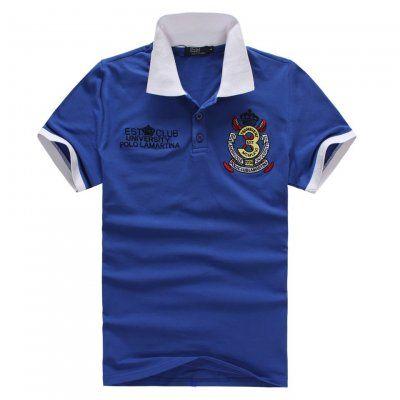 EST Club University Polo Lamartina Blue