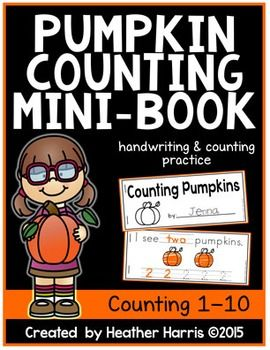 Get ready for fall with this FREEBIE!4 pages of handwriting practice- both number words and numbersPage 1:title counting 1counting 2Page 2:counting 3counting 4counting 5Page 3:counting 6counting 7counting 8Page 4:counting 9counting 10ALL BLACK AND WHITE printing