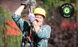 Groupon - $ 44 for a 10-Leg Zipline Tour at Kersey Valley Zip Line ($89 Value) in Archdale. Groupon deal price: $44