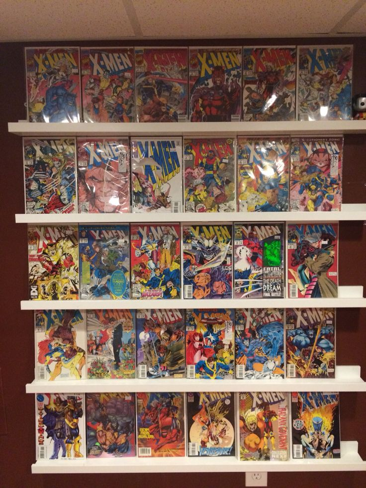 25 best ideas about comic book storage on pinterest comic book rooms comic book display and - Comic book display shelves ...