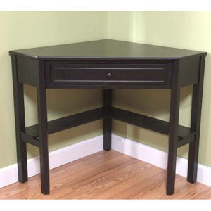 "I really want this black corner desk. I have the perfect ""corner"" for it! I am not as funny as I think I am..."