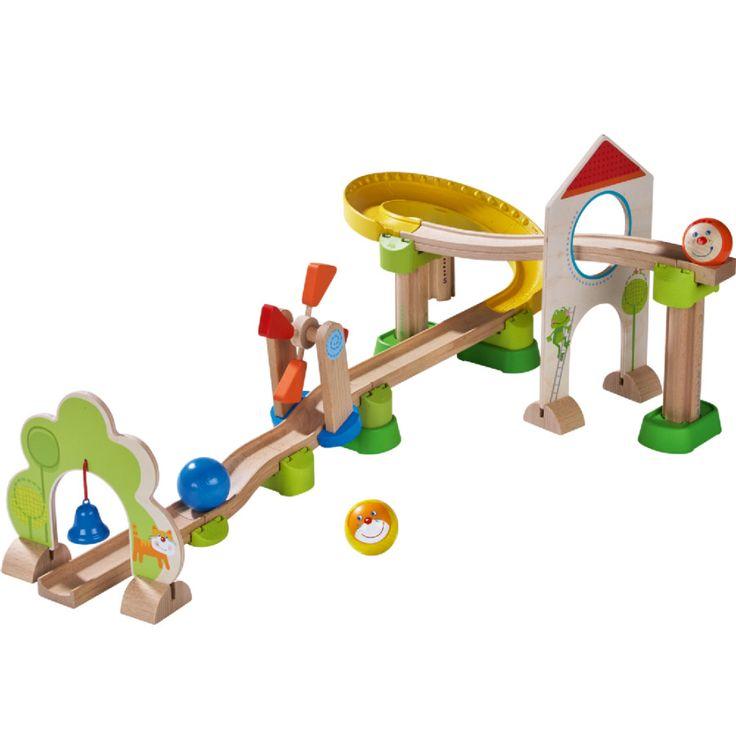 HABA Kugelbahn Kullerbü - Windradbahn 300438 #HABA #Kugelbahn #Spielzeug #Kinderspielzeug #Kullerbü #Windradbahn #Holzkugelbahn #Verbindungselemente #Höhenabstufungen #Clicksystem #clever #ab18Monaten