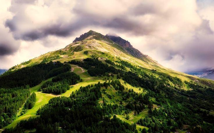 France, Montagne, Collines, Des Forêts, Arbres, Bois