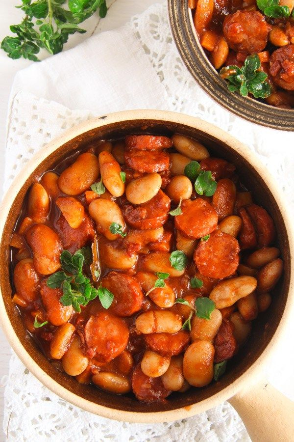 Easy White Bean and Cabanossi Sausage Stew