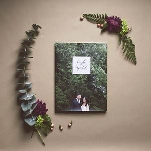 Thanks @ Kaylayestal For A Look Into Your Wedding Album. Featured Is Our  Hardcover Photo