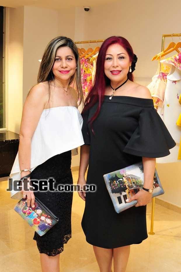 Nidia Sánchez y Belerina Herrera.