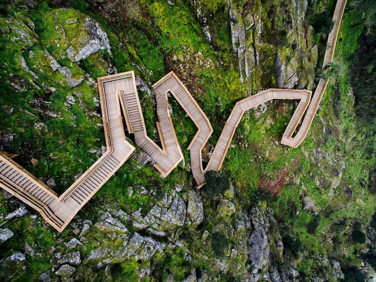 World view: a walk in the park, Arouca, Portugal - via The Guardian 12.05.2016   The Passadicos do Paiva is an 8km boardwalk through ruggedly beautiful Unesco-listed scenery in northern Portugal