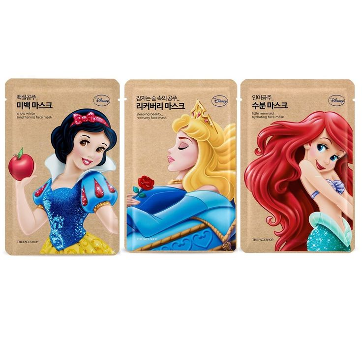 bbcosmetic - [THE FACE SHOP] x Disney Princess Edition Facial Mask Sheet 3pcs Set, $10.37 (http://bbcosmetic.com/the-face-shop-x-disney-princess-edition-facial-mask-sheet-3pcs-set/)